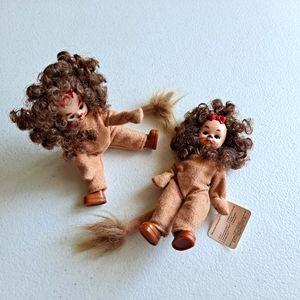 Madame Alexander Wizard of Oz Lion dolls